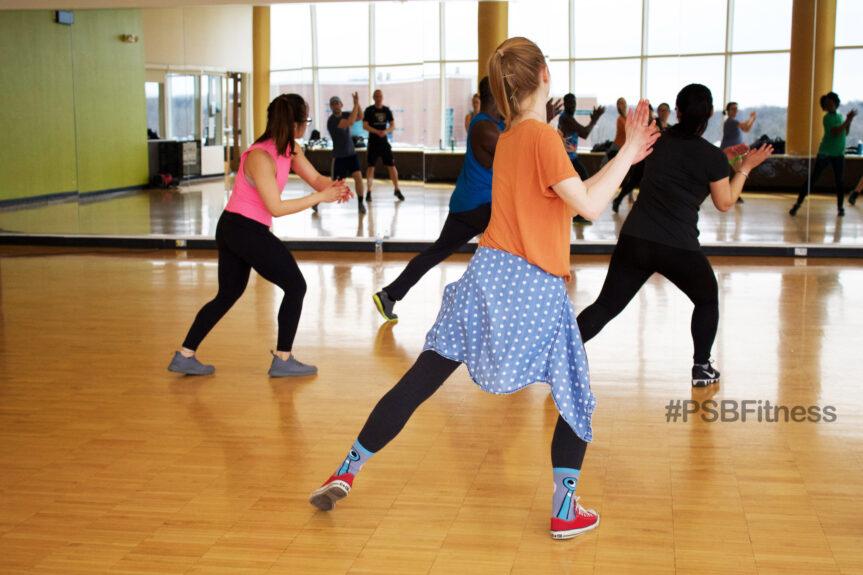 PSB 24/7 yoga and zumba classes